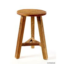 Holz Hocker Java